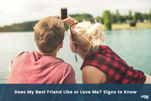 girl and guy best friends taking selfie is my best friend falling for me Does My Best Friend Like or Love Me Signs to Know TheHopeLine