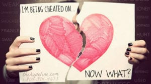 cheating on you
