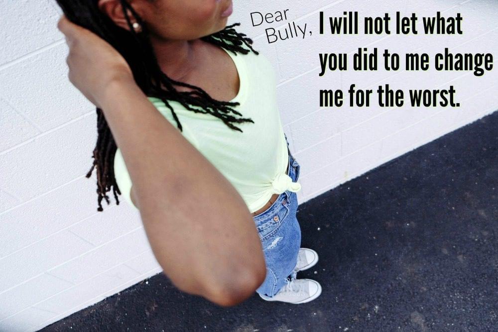 Dear Bully…Thank you.