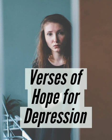 Verses of Hope for Depression