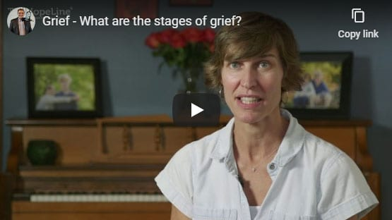 Grief – What are the stages of grief?