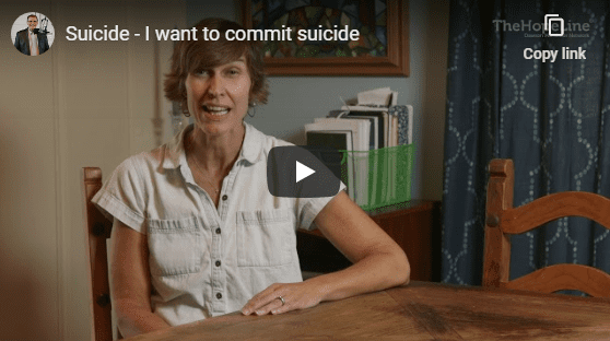 Suicide – I want to commit suicide