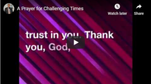 prayer for challenging times