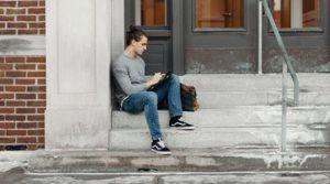 Man struggling after breakup
