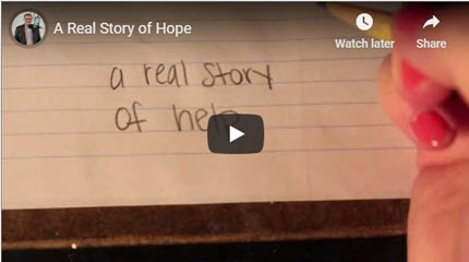 Suicide Prevention: A Real Story of Hope