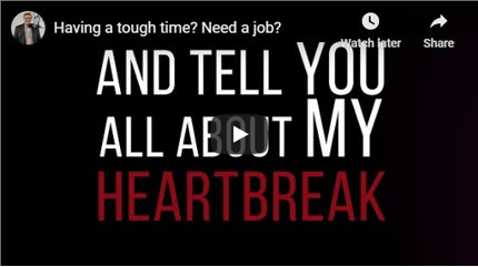 Having a tough time? Need a job? Don't Quit