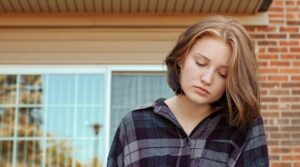 TheHopeLine girl struggling with isolation
