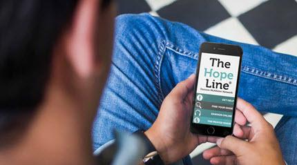 TheHopeLine Mobile App