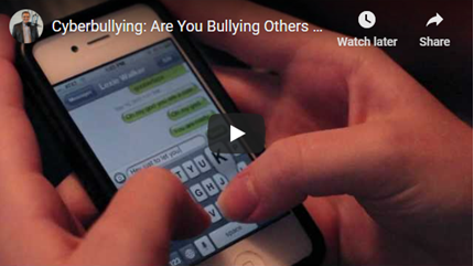 Cyberbullying: Are You Bullying Others Online?
