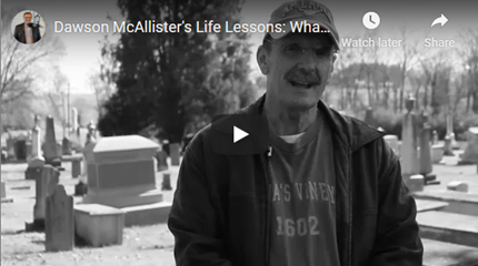 Dawson McAllister's Life Lessons: What Would Your Tombstone Say