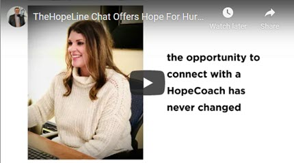 TheHopeLine Chat Offers Hope for Hurting Young Adults