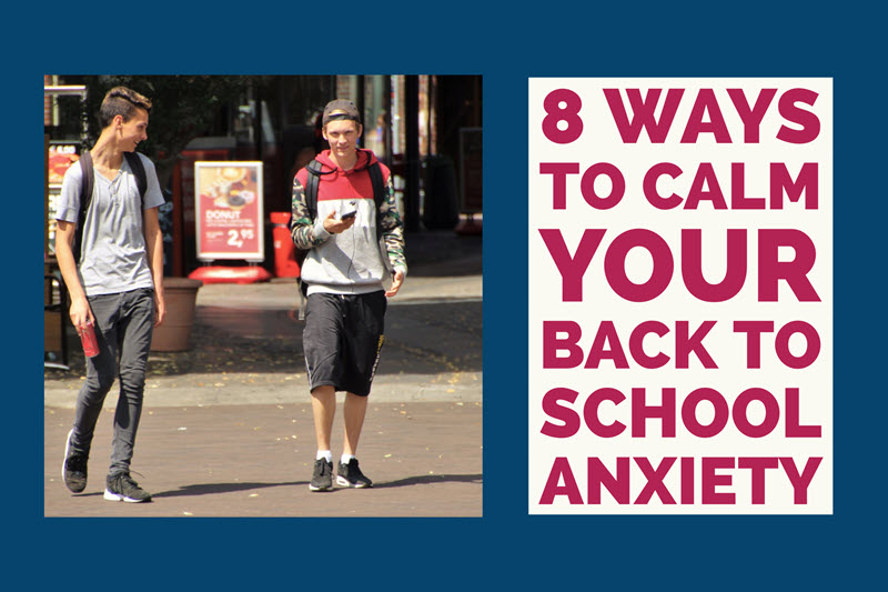 2 teen boys walking after school 8 Ways to Calm Your Back to School Anxiety TheHopeLine